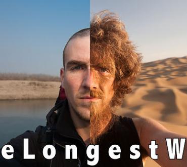 The Longest Way 1.0 – one year walk/beard grow time lapse