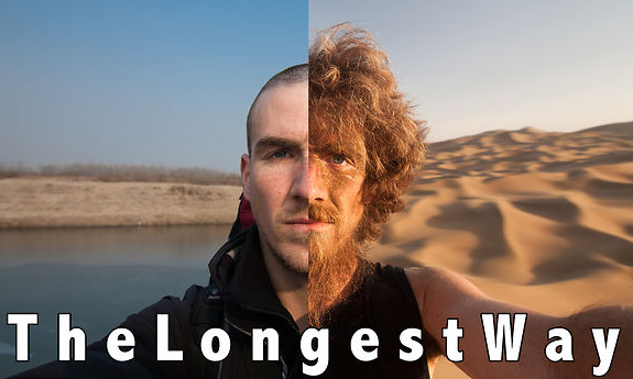 The Longest Way 1.0 – one year walk/beard grow time lapse