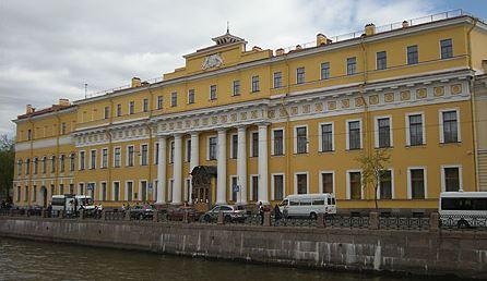 Palais Ioussoupov à St Petersbourg