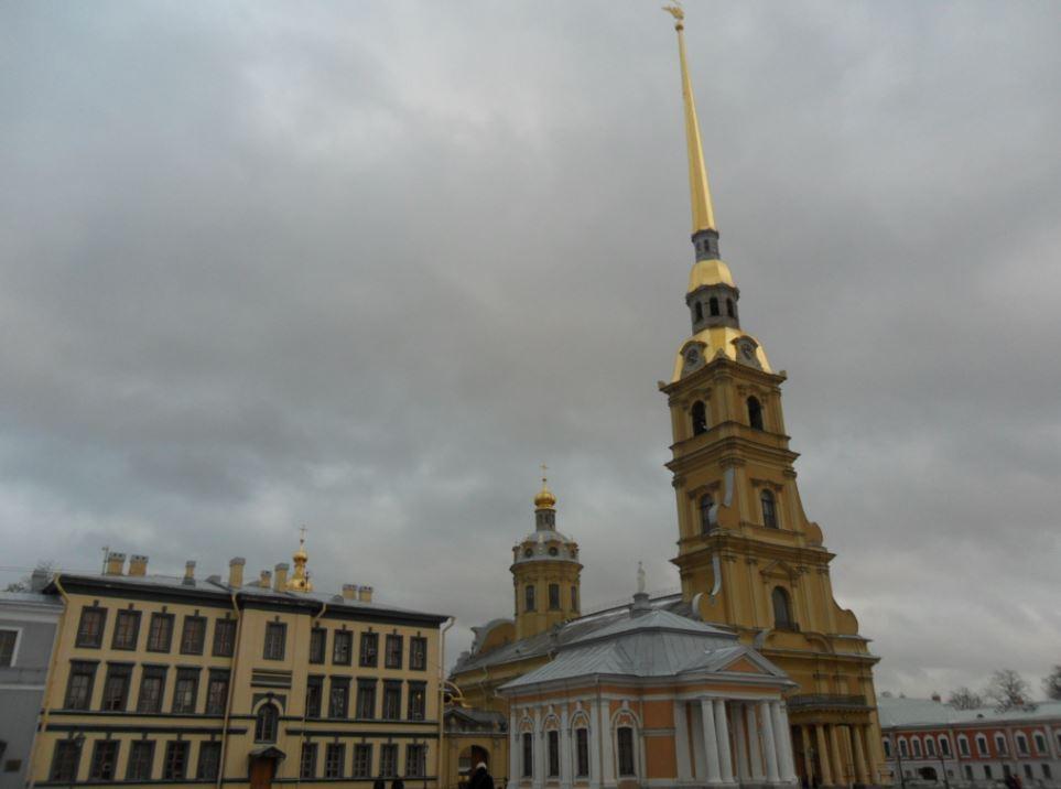 forteresse Pierre-et-Paul à St Petersbourg
