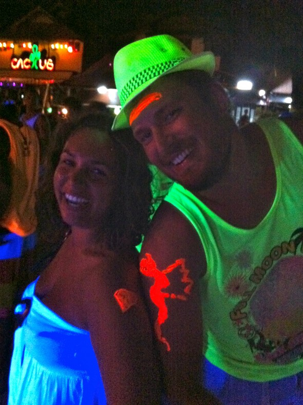 Koh Phangan et la full moon party