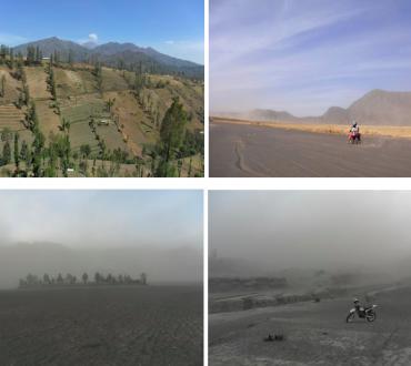 Malang et le volcan Bromo