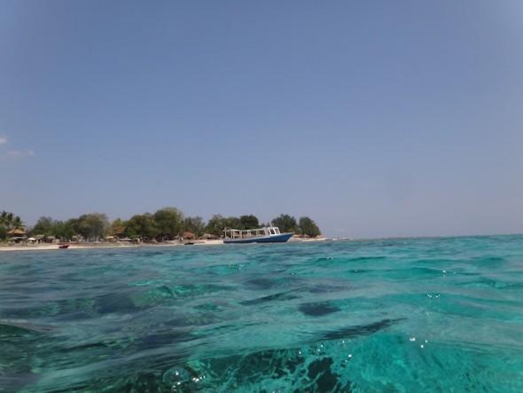 Plonger à Gili Air