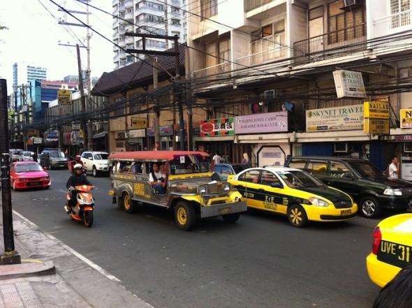 Départ d'Indonésie vers Les Philippines