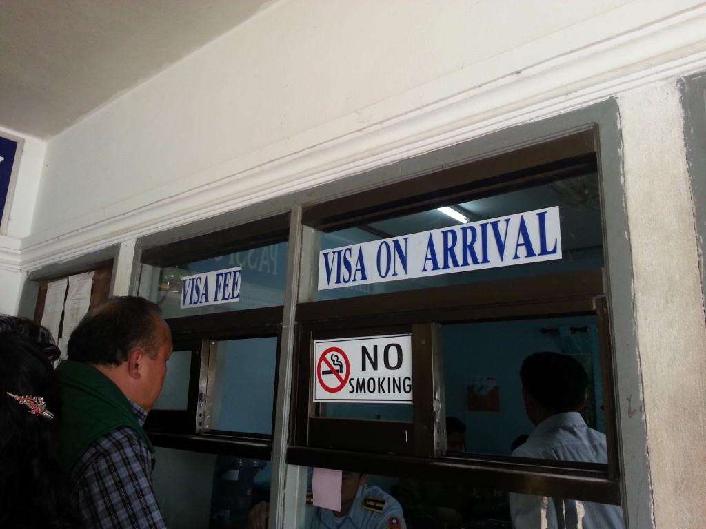Obtention et paiement du visa Laotien