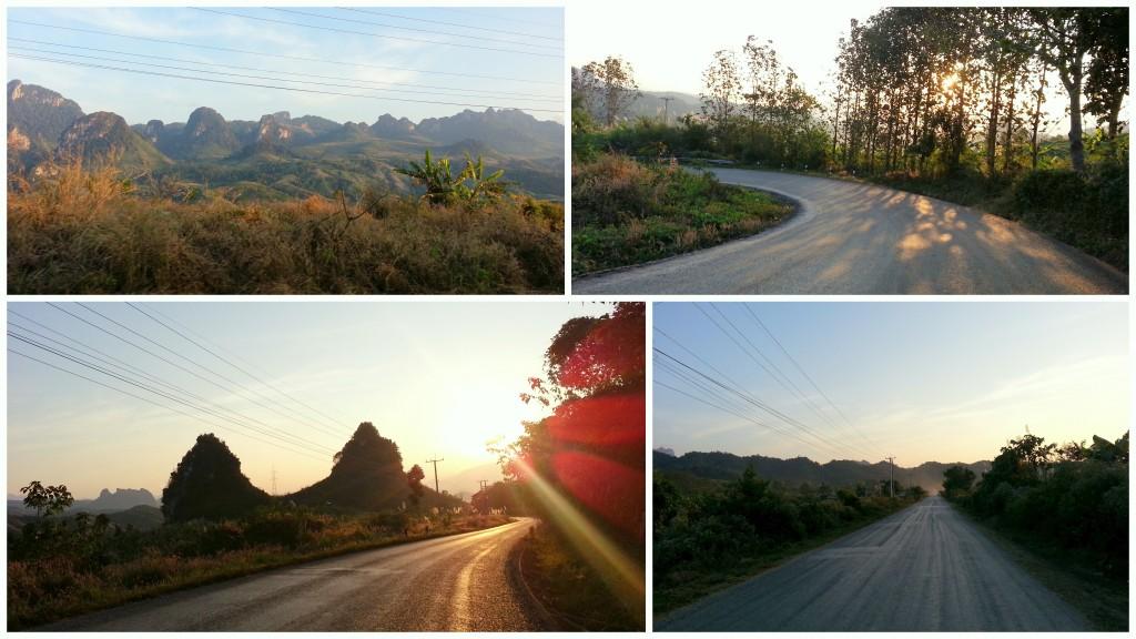 Routes et paysages du Laos