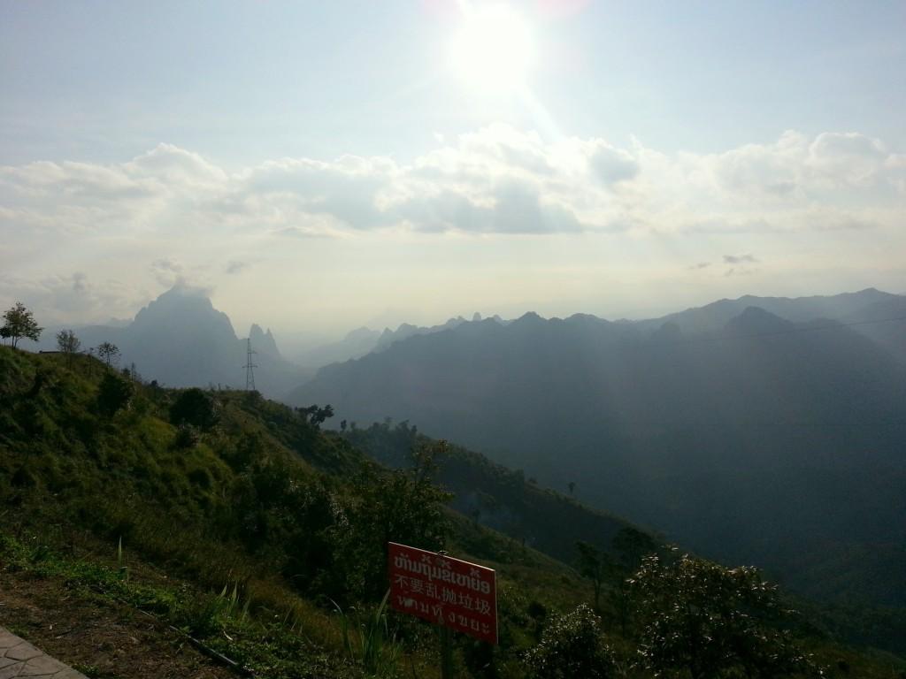 Sublime paysage du Laos