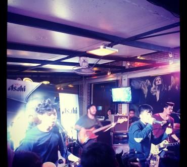 Concert du groupe 25 hours à Chiang Mai