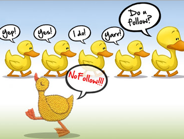 La followbsession : dofollow vs nofollow