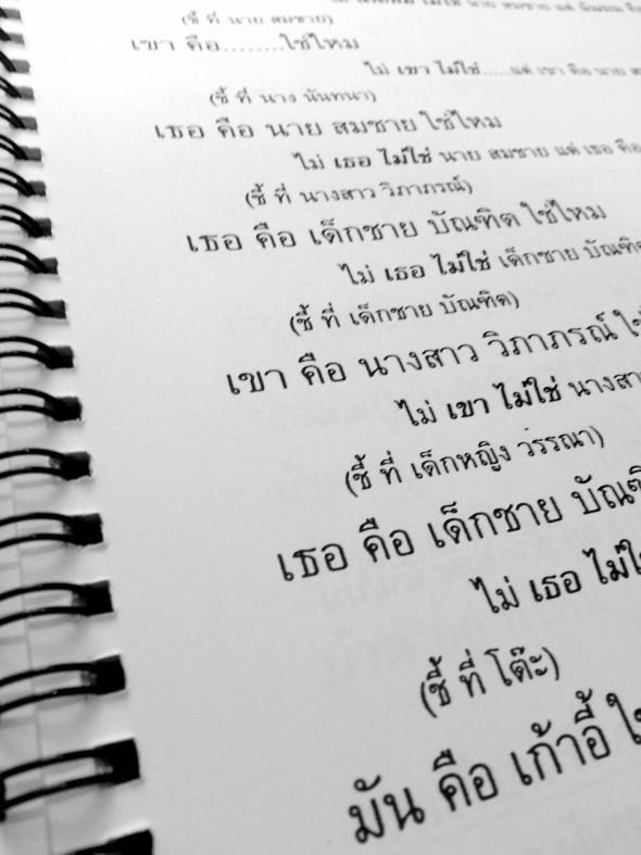 Prendre des cours de thai à Chiang Mai