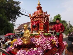 Bouddha Songkran Chiang Mai