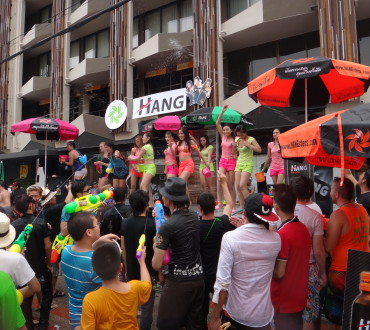Songkran, le nouvel an thaï, à Chiang Mai