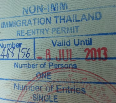 Extension du visa ED et demande de « re-entry permit » à Chiang Mai