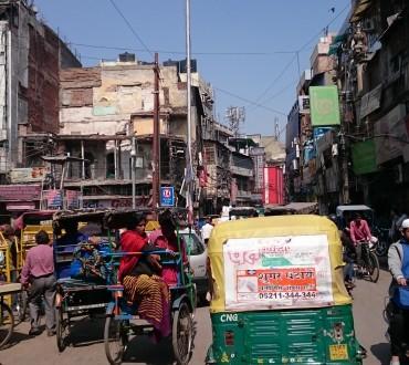 Mes premiers pas en Inde