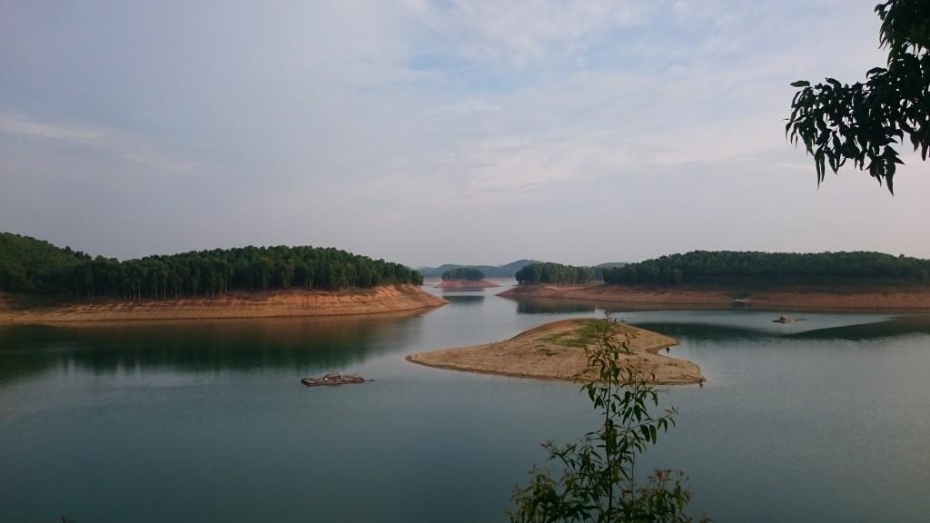 Magnifique Lac Thac Ba à Yen Bai