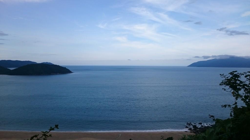 Vue du Hai Van pass en direction de Hue