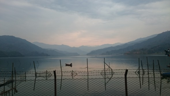 A Pokhara, l'Annapurna tu découvriras