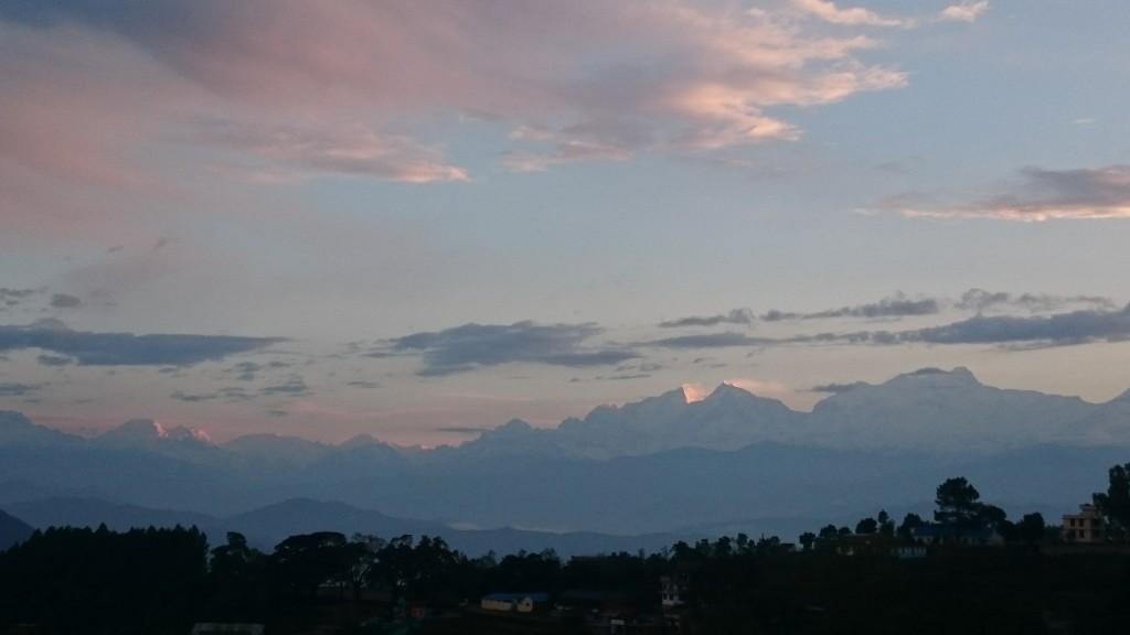 Panorama sur l'Annapurna