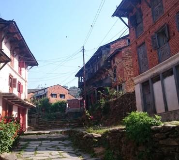Le village Newar de Bandipur
