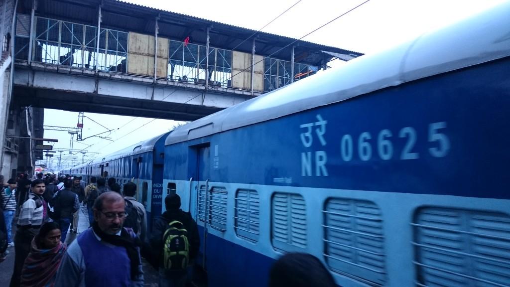 Train matinal de Delhi à Agra