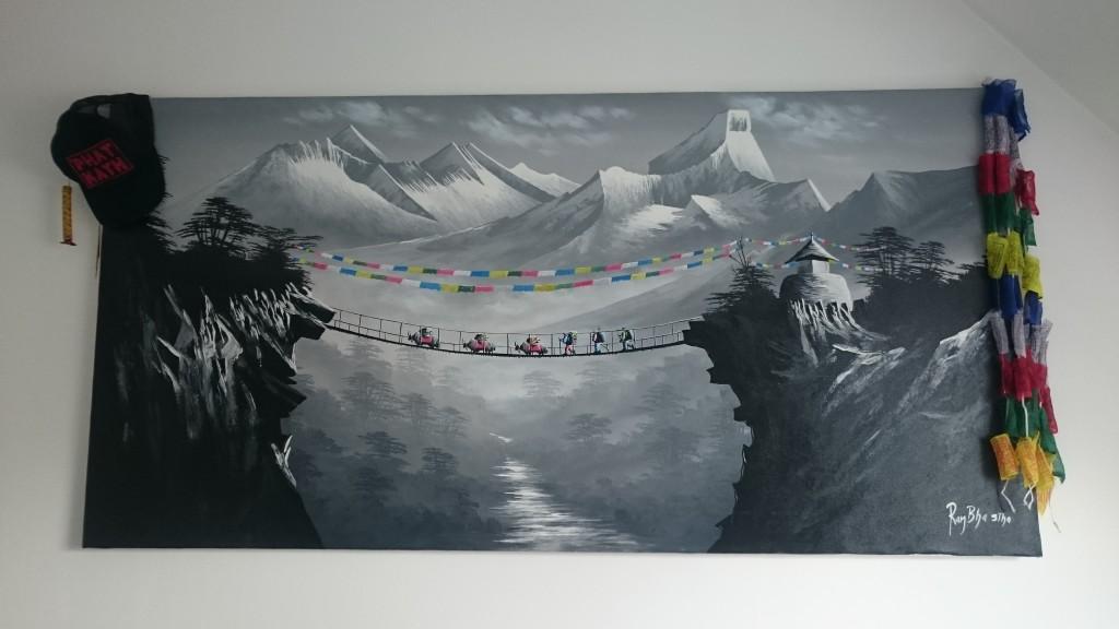 tableau du Népal