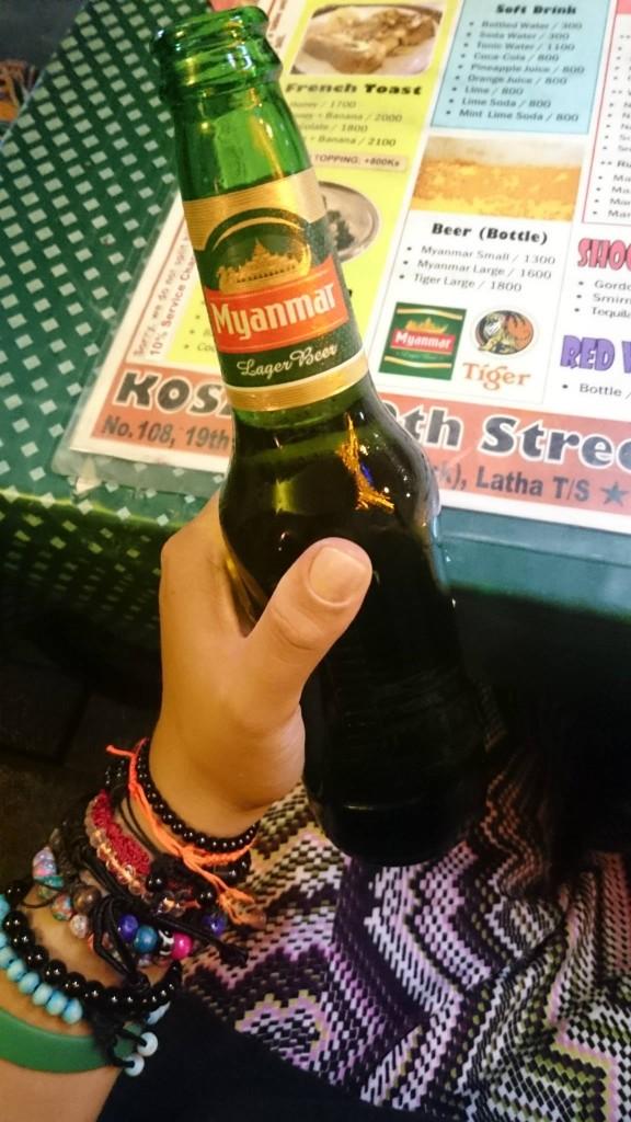 Bière Birmanie Myanmar