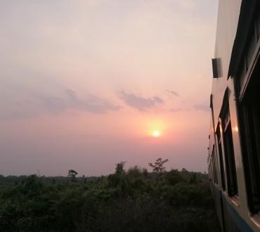 Les trains de Birmanie