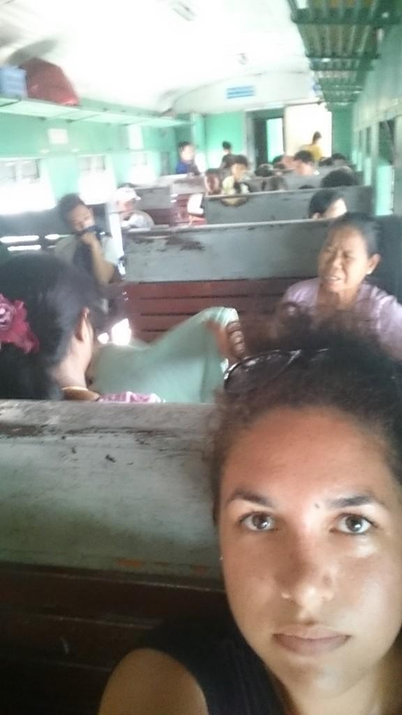 ordinary class train myanmar
