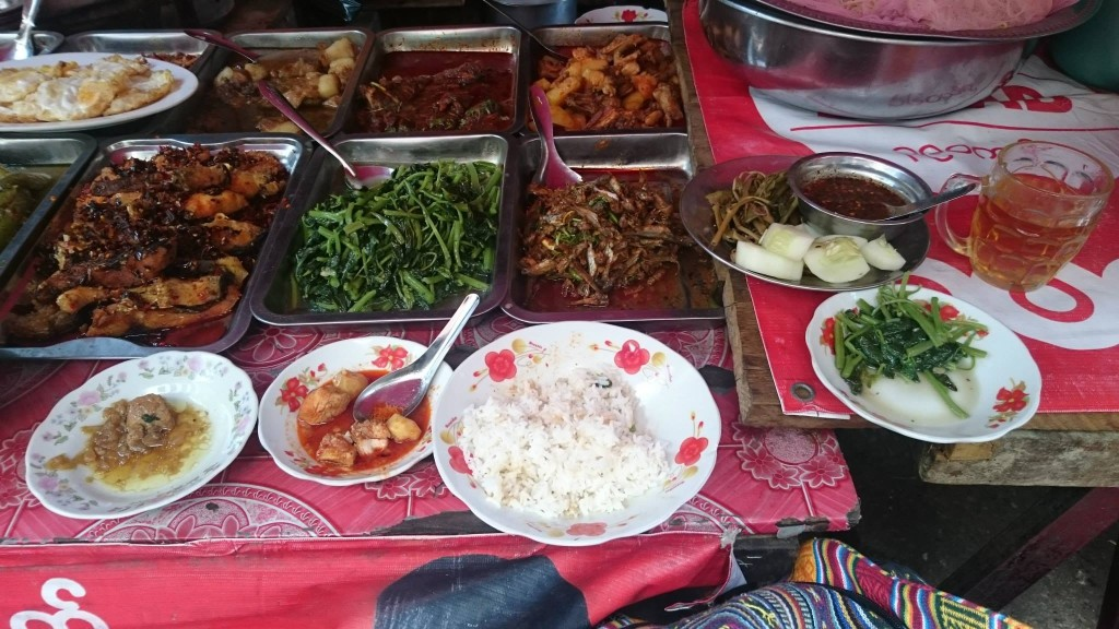 Street food Yangon