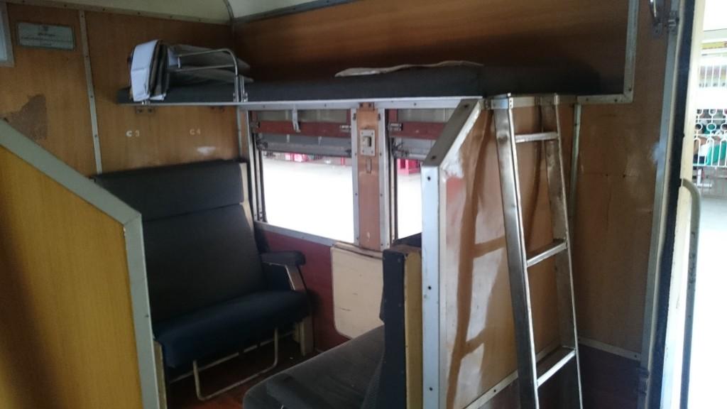 sleeper class train Myanmar