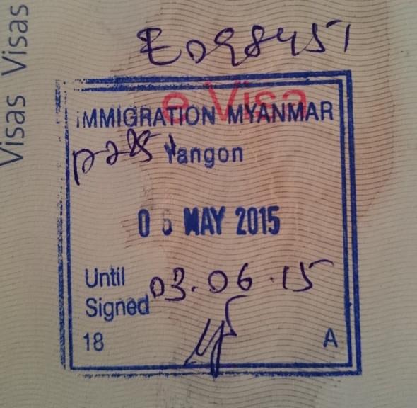 Comment obtenir un eVisa tourisme pour la Birmanie