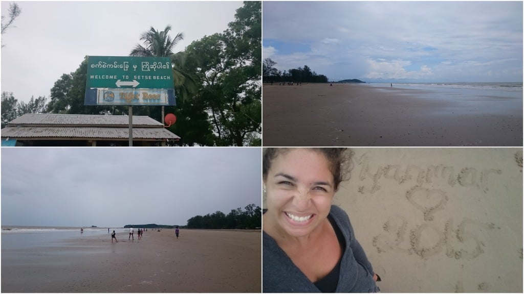 aperçu de Setse Beach au Myanmar