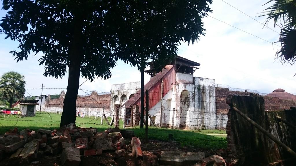 prison coloniale de Mawlamyine