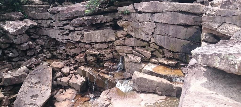 waterfall parc national Kampot Cambodge