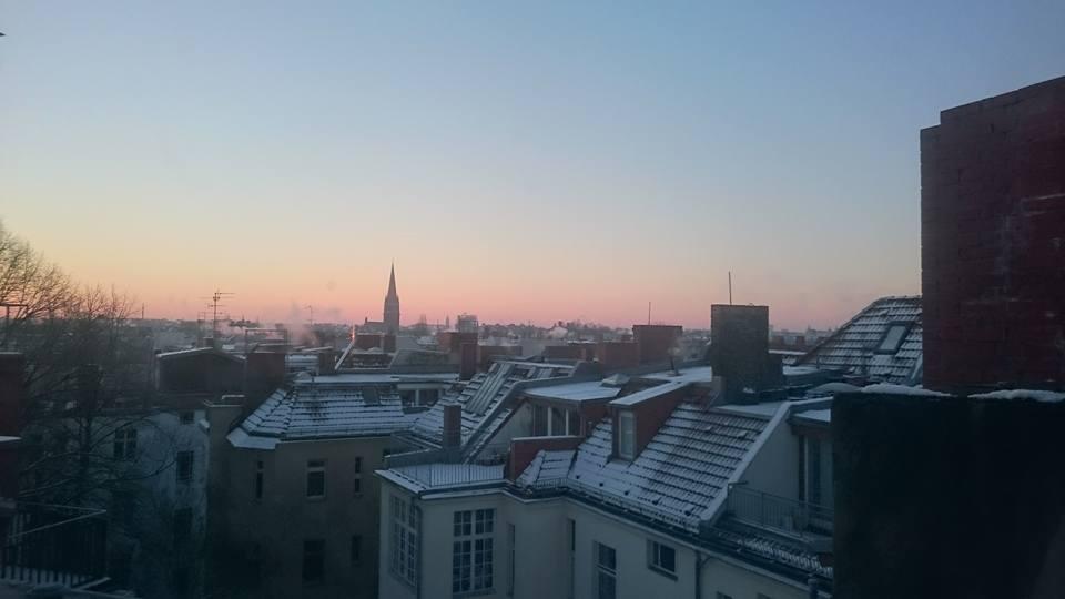 sur les toits de Berlin