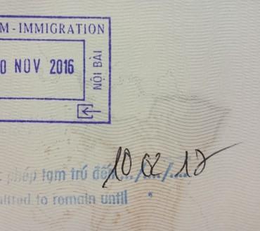 Obtenir votre visa à l'aéroport d'Hanoi au Vietnam