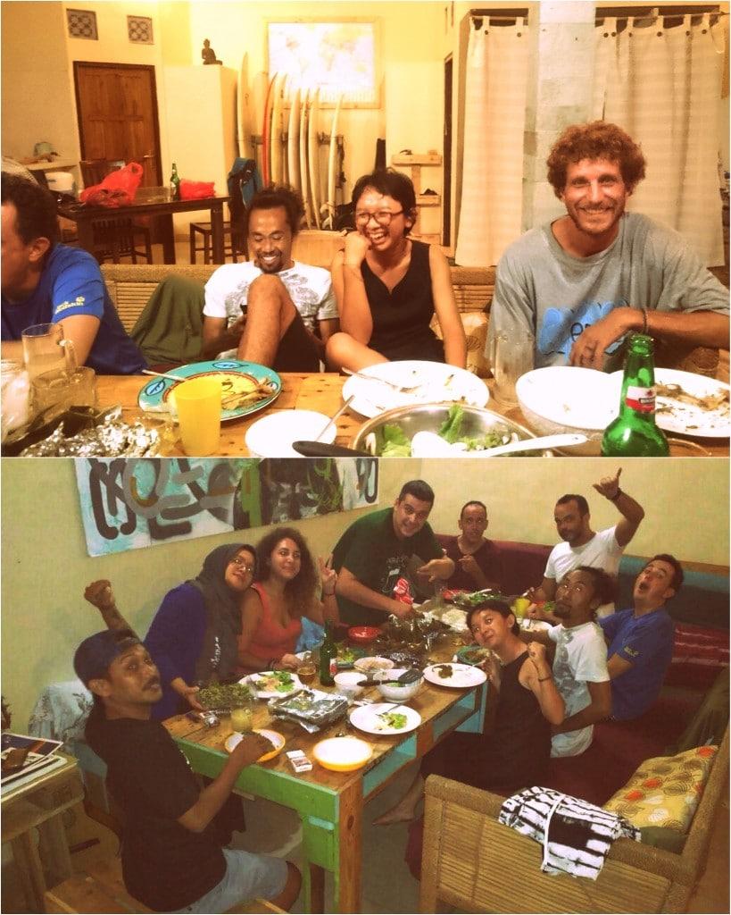 Soirée groupe Bali
