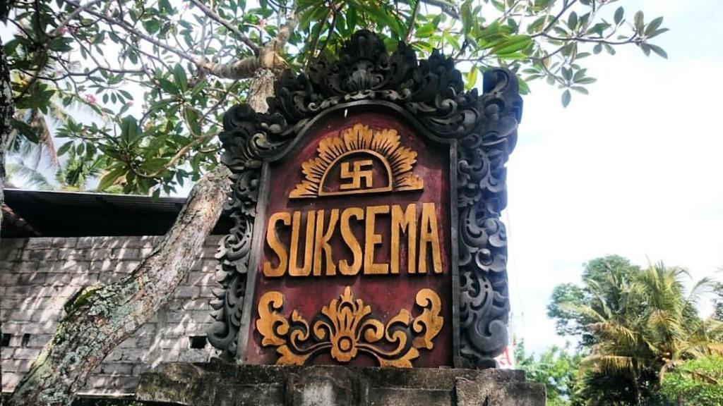 "Suksema veut dire ""merci"" en balinais et on utilise terima kasih en indonésien. :-)"